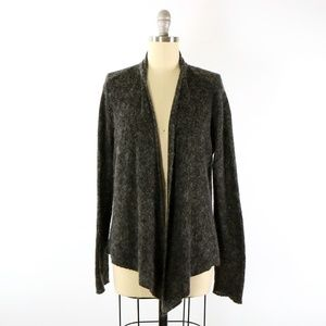 Eileen Fisher *Flaw Wool Mohair Cashmere Cardigan